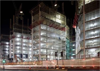 london - work