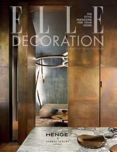 Elle Decoration / cover - ottobre 17