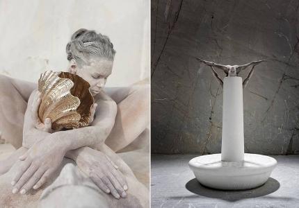 Marble n. 12 / Marble n. 19 -Carrara
